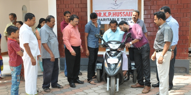 Distributing Motorized Tricycle
