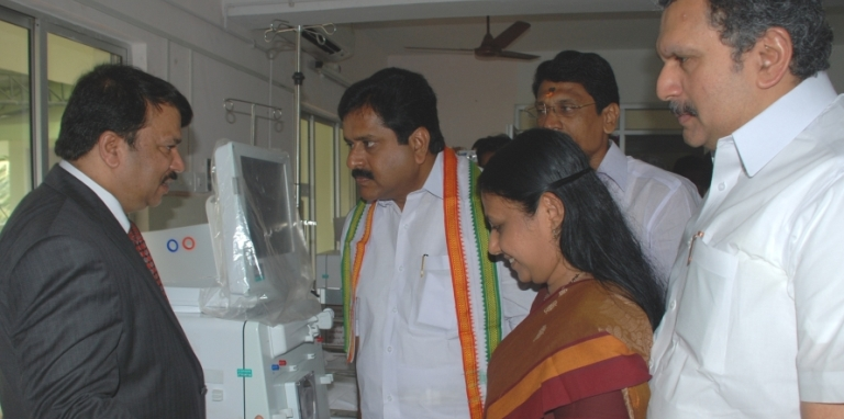 Dialysis Machine donation program at  Trivandrum