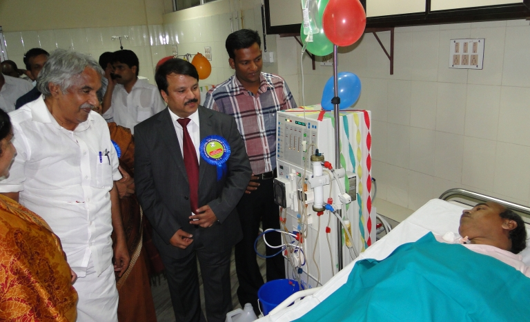 Dialysis Machine donation program at  Calicut